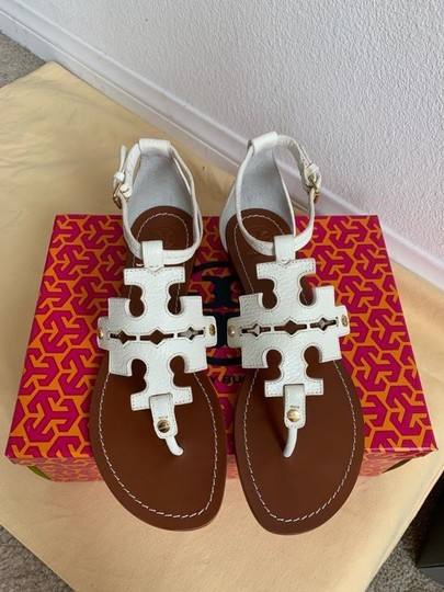 Tory Burch White ( Ivory ) Sandals Image 1