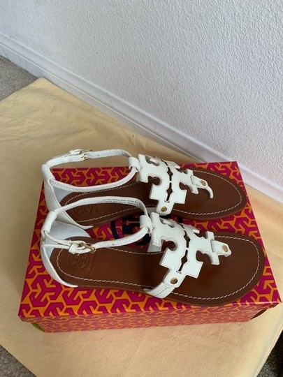 Tory Burch White ( Ivory ) Sandals Image 11
