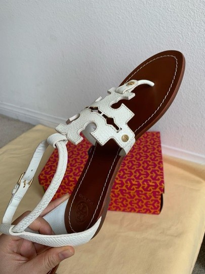 Tory Burch White ( Ivory ) Sandals Image 4