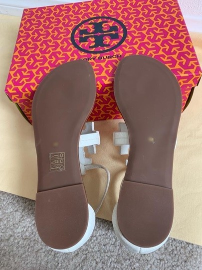 Tory Burch White ( Ivory ) Sandals Image 7
