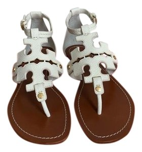 Tory Burch White ( Ivory ) Sandals