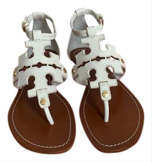 Tory Burch White ( Ivory ) Sandals Image 0