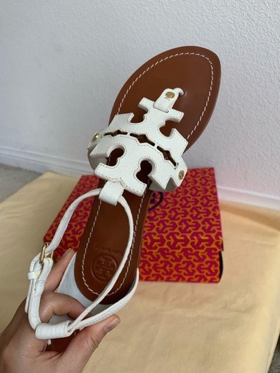 Tory Burch White ( Ivory ) Sandals Image 2