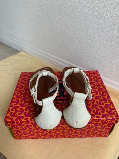 Tory Burch White ( Ivory ) Sandals Image 6