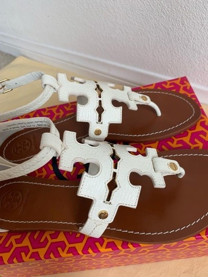 Tory Burch White ( Ivory ) Sandals Image 9
