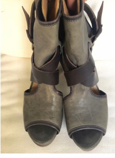 Chloé Gray/Brown Boots Image 3