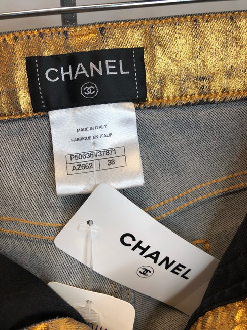 Chanel Skinny Jeans-Coated Image 4