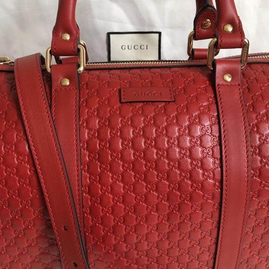 Gucci Satchel in red Image 1