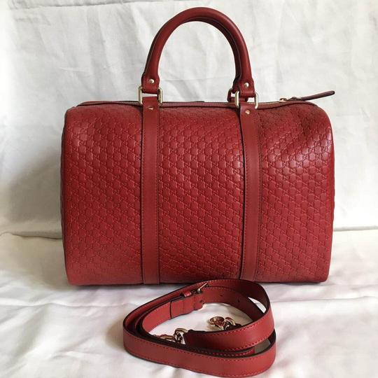 Gucci Satchel in red Image 3