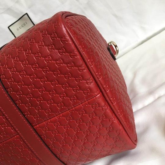 Gucci Satchel in red Image 6