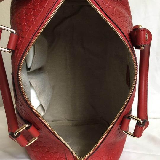 Gucci Satchel in red Image 7