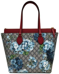 Gucci Tote in blue/red