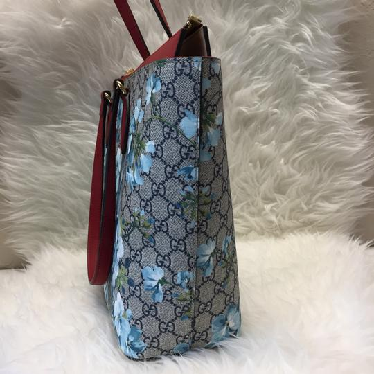 Gucci Tote in blue/red Image 2
