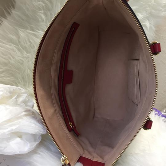 Gucci Tote in blue/red Image 4