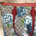 Gucci Tote in blue/red Image 5
