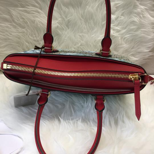 Gucci Satchel in blue/red Image 3