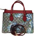 Gucci Satchel in blue/red Image 0