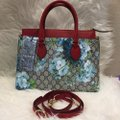 Gucci Satchel in blue/red Image 2