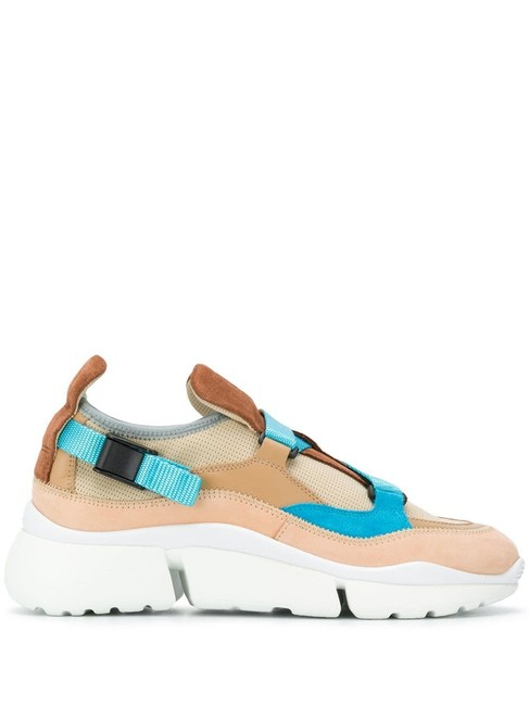 Item - Brown/Turquoise Sonnie Soft Lo-top Sneakers Size EU 38 (Approx. US 8) Regular (M, B)