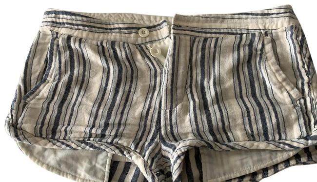 Item - Blue and Cream Striped Ob589416 Shorts Size 4 (S, 27)