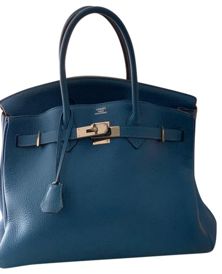 Preload https://img-static.tradesy.com/item/25858837/hermes-blue-leather-tote-0-1-540-540.jpg