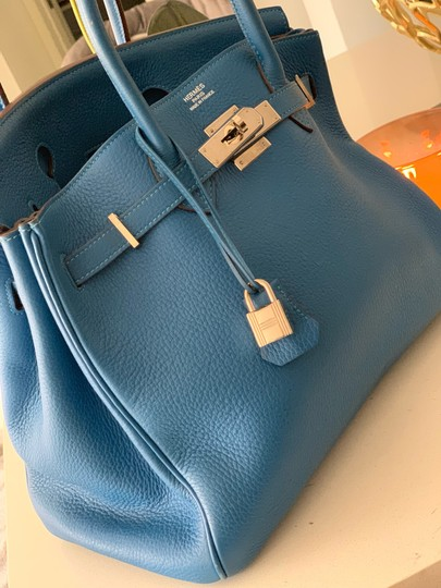 Hermès Tote in blue Image 1