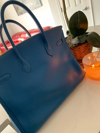 Hermès Tote in blue Image 11