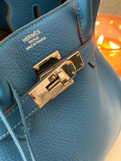Hermès Tote in blue Image 2