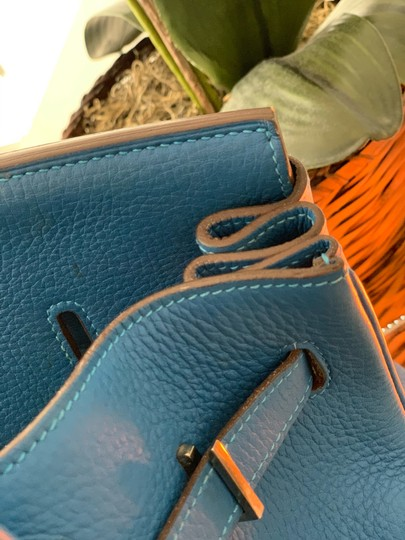 Hermès Tote in blue Image 4