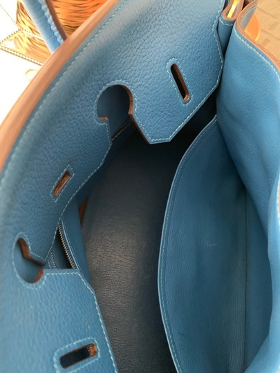 Hermès Tote in blue Image 7