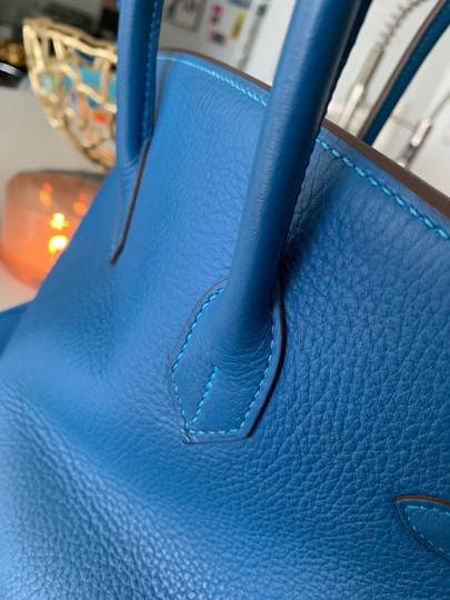 Hermès Tote in blue Image 8