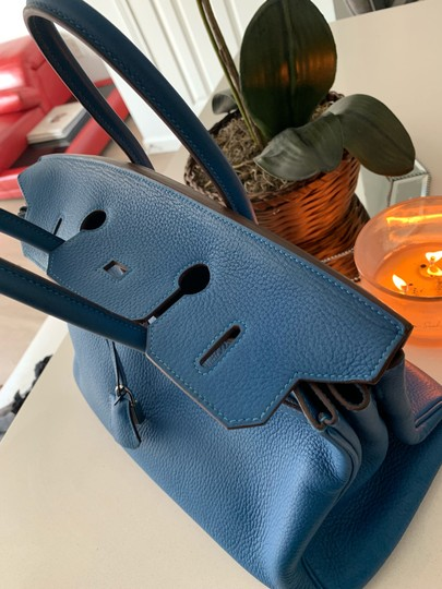Hermès Tote in blue Image 9