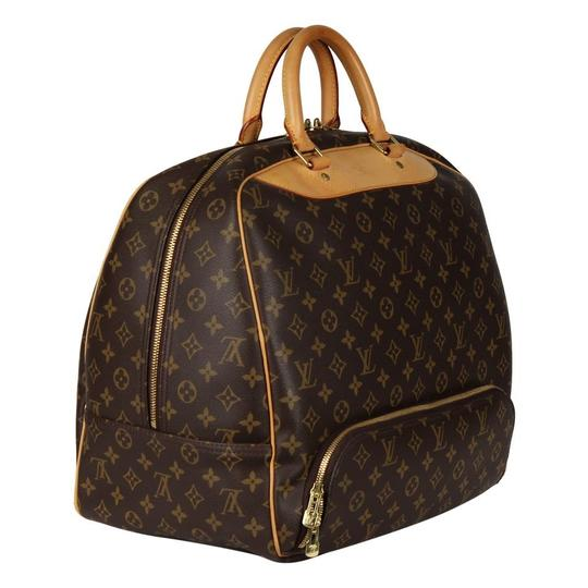 Louis Vuitton Duffle Monogram Vintage Brown Travel Bag Image 1