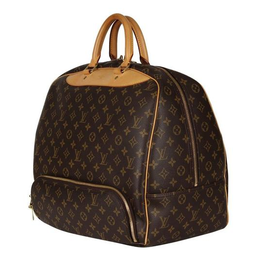Louis Vuitton Duffle Monogram Vintage Brown Travel Bag Image 2
