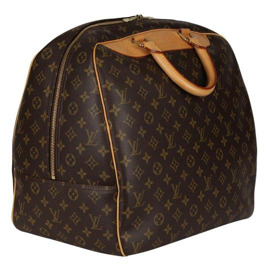 Louis Vuitton Duffle Monogram Vintage Brown Travel Bag Image 3