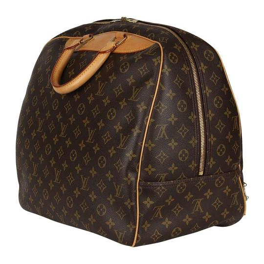 Louis Vuitton Duffle Monogram Vintage Brown Travel Bag Image 4