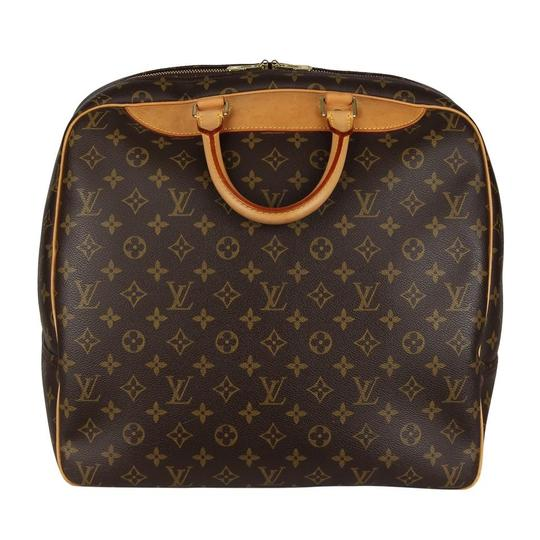 Louis Vuitton Duffle Monogram Vintage Brown Travel Bag Image 5