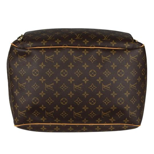 Louis Vuitton Duffle Monogram Vintage Brown Travel Bag Image 6