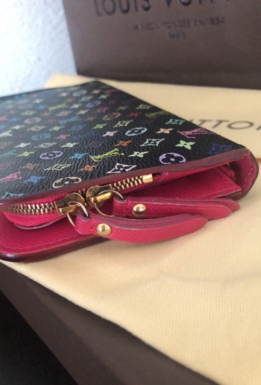 Louis Vuitton Neverfull Murkami Artsy Totally Multi Color Clutch Image 3
