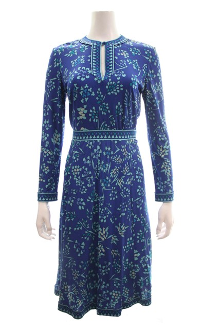 Preload https://img-static.tradesy.com/item/25859096/saks-fifth-avenue-blue-bessi-for-silk-long-sleeved-print-workoffice-dress-size-10-m-0-0-650-650.jpg