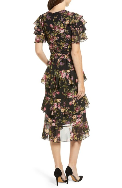 Black Tapestry Floral Maxi Dress by WAYF Image 3