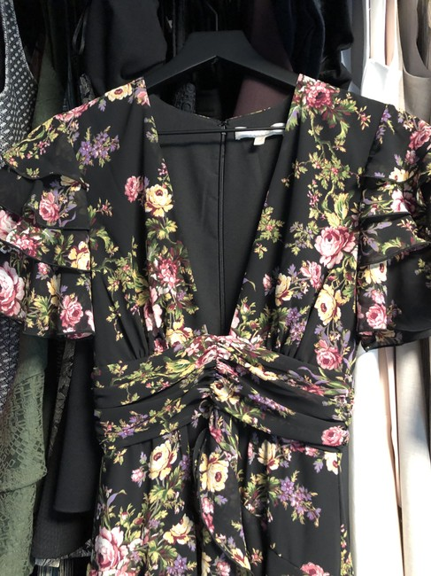 Black Tapestry Floral Maxi Dress by WAYF Image 9