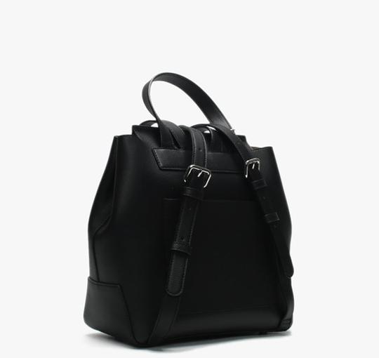 DKNY New York Leather Pockets Inside Backpack Image 1