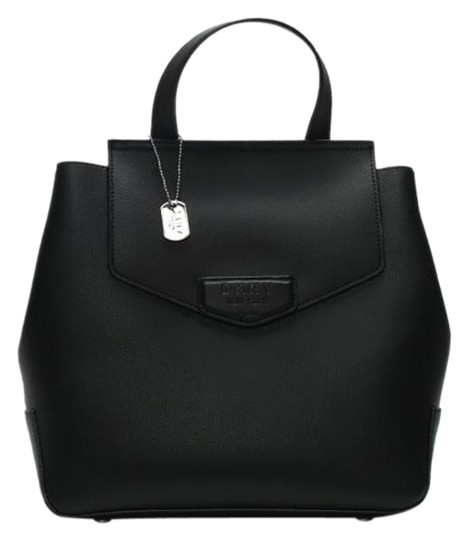 DKNY New York Leather Pockets Inside Backpack Image 0