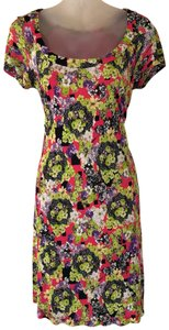 Versace Jeans Collection short dress pink green on Tradesy