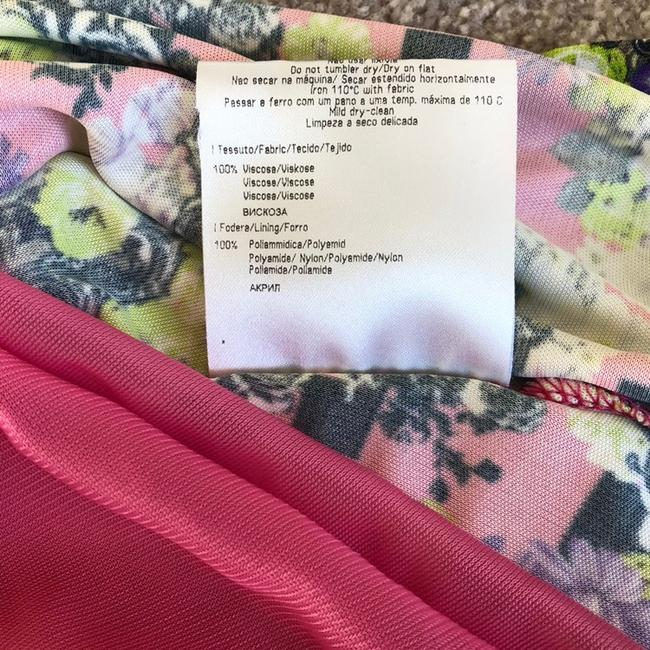 Versace Jeans Collection short dress pink green on Tradesy Image 4