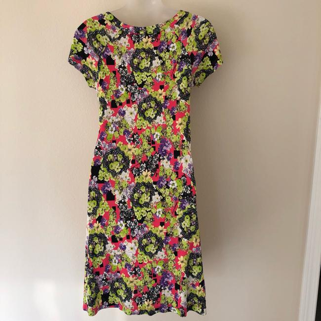 Versace Jeans Collection short dress pink green on Tradesy Image 5