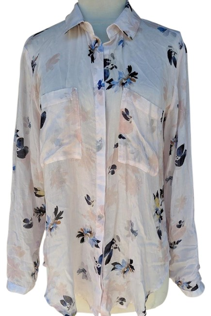 Preload https://img-static.tradesy.com/item/25859272/cloth-and-stone-multicolor-floral-print-cotton-silk-s-button-down-top-size-4-s-0-1-650-650.jpg
