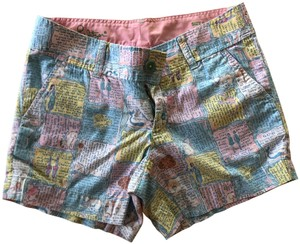 Lilly Pulitzer Spring Summer Pattern Dress Shorts Multi