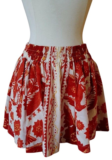 Preload https://img-static.tradesy.com/item/25859372/rebecca-minkoff-multicolor-red-floral-silk-flared-stretch-flowy-vacation-re-skirt-size-2-xs-26-0-1-650-650.jpg